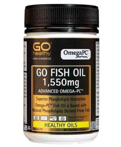 go healthy fish oil 1550mg 80 capsules