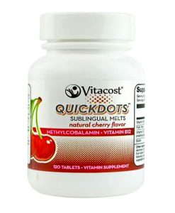 vitacost B12 cherry tablets 120