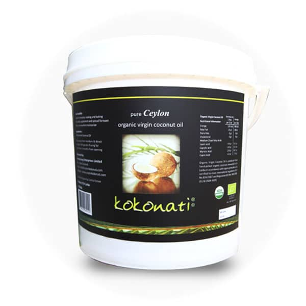 kokonati Coconut Oil 4L